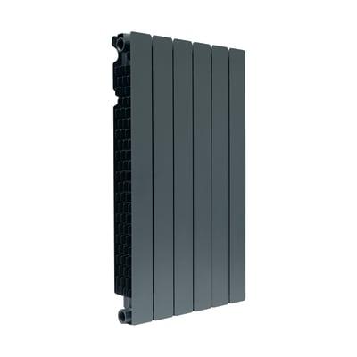 Radiatore acqua calda FONDITAL Modern in alluminio 6 elementi interasse 80 cm