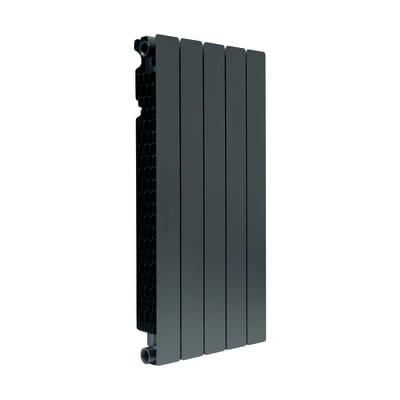 Radiatore acqua calda PRODIGE BY FONDITAL Modern in alluminio 5 elementi interasse 80 cm