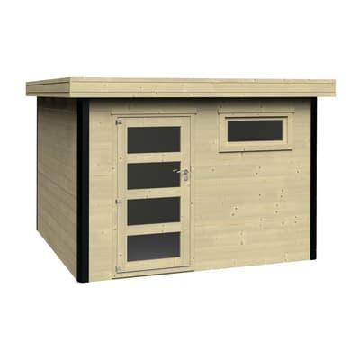 Casetta da giardino in legno Evan 9 m² spessore 28 mm