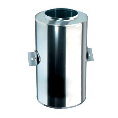 Raccordo per canna fumaria in inox 316l (elevata resistenza in condizioni climatiche estreme) Ø 100 mm