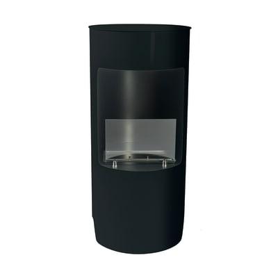 Caminetto a bioetanolo per pavimento Cortina 1.2 L nero