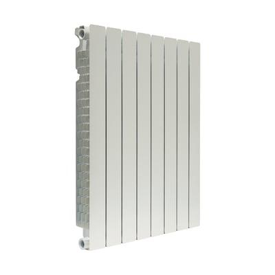 Radiatore acqua calda FONDITAL Modern in alluminio 8 elementi interasse 80 cm