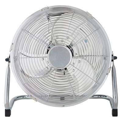 Ventilatore da pavimento EQUATION Jervis3 cromo 45 W Ø 30 cm