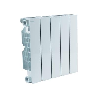 Radiatore acqua calda PRODIGE BY FONDITAL Modern in alluminio 5 elementi interasse 35 cm