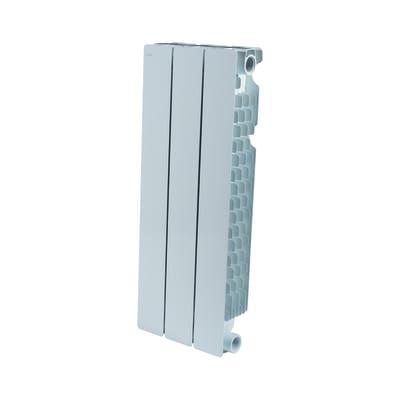 Radiatore acqua calda PRODIGE BY FONDITAL Modern in alluminio 3 elementi interasse 60 cm