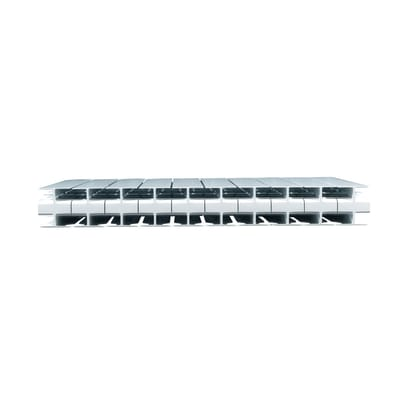 Radiatore acqua calda PRODIGE BY FONDITAL Modern in alluminio 10 elementi interasse 35 cm