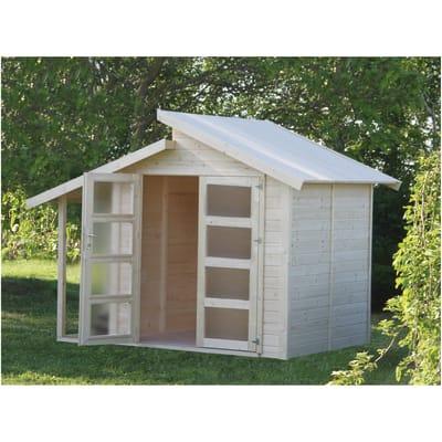 Casetta da giardino in legno Amstall 7.8 m² spessore 19 mm