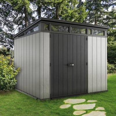 Casetta da giardino in resina Artisan 9x7 KETER,  superficie interna 5.31 m² e spessore parete 20 mm