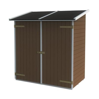 Casetta da giardino in legno Lerici,  superficie interna 1.02 m² e spessore parete 14 mm