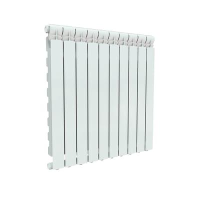 Radiatore acqua calda Wings in alluminio 10 elementi interasse 80 cm