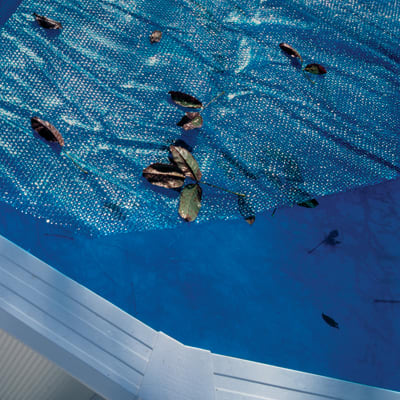 Copertura per piscina a bolle NATERIAL CV501NAT in plastica 495 x 295 cm