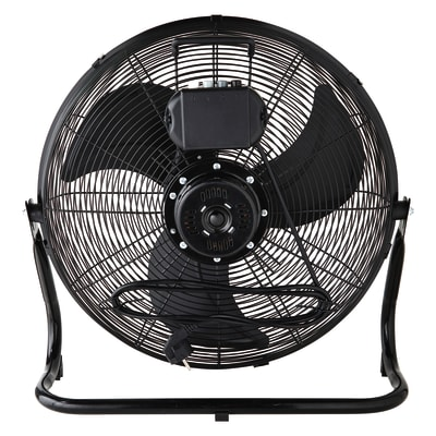 Ventilatore da pavimento EQUATION Jervis3 nero 110 W Ø 45 cm