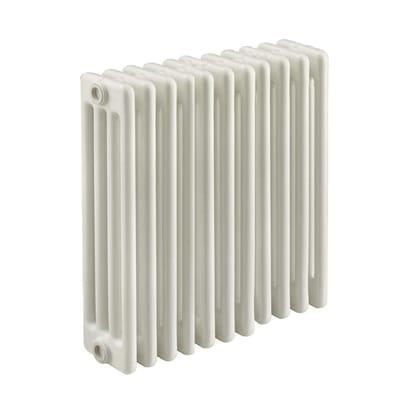 Radiatore acqua calda Tubolare in acciaio 10 elementi interasse 53.5 cm