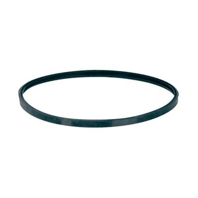 Guarnizione Garnizione  in silicone nero Dn 120 mm a tre labbra inclinate in silicone