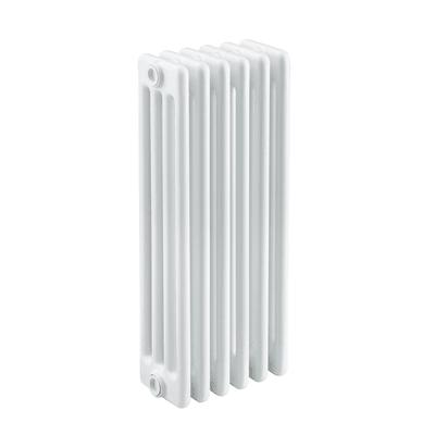 Radiatore acqua calda Tubolare in acciaio 6 elementi interasse 62.3 cm