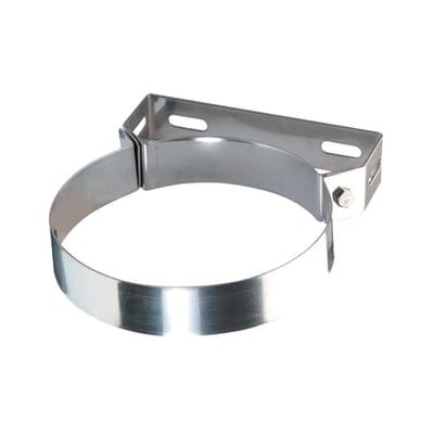 Collare di fissaggio Collare in acciaio inox Dn 120 mm in inox 304 (buona resistenza)