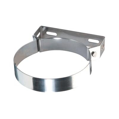 Collare di fissaggio Collare in acciaio inox Dn 130 mm in inox 304 (buona resistenza)