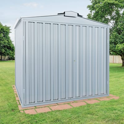 Garage in acciaio al carbonio New York SAPIL 8.54 m², Sp 0.4 mm