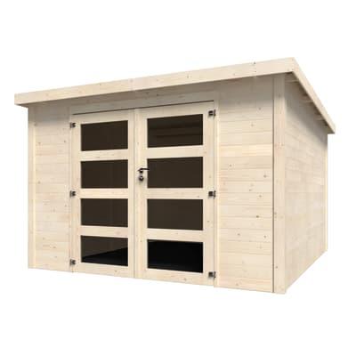 Casetta da giardino in legno Oleandro 9.16 m² spessore 28 mm
