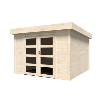 Casetta da giardino in legno Oleandro Plus 9.16 m² spessore 28 mm