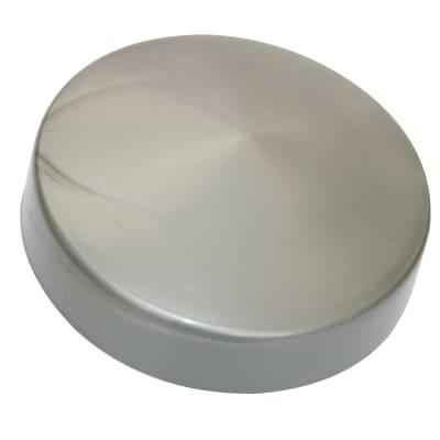 Terminale per colonna in pvc grigio H 3 cm