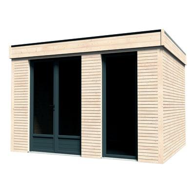 Casetta da giardino in legno Decor Home 9 9.81 m² spessore 19 mm