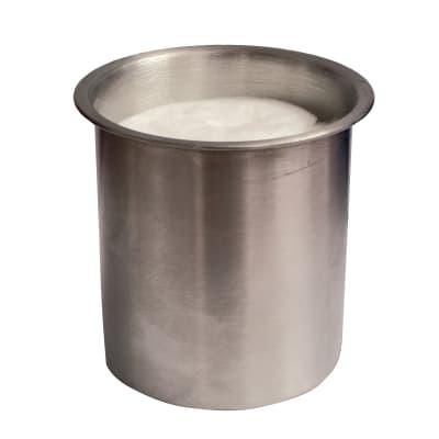 Biobruciatore per pavimento ricambio rotondo 0.3 L grigio / argento