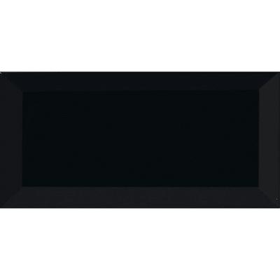 Piastrella per rivestimenti Metro 7.5 x 15 cm sp. 7 mm nero