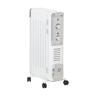 Radiatore ad olio EQUATION 9 elementi Olea bianco 1500 W