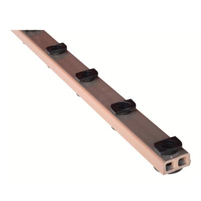 Travetto da pavimento Easy Change in legno 2.5 x 6 x L 185 cm
