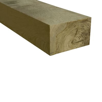 Travetto da pavimento in legno 4.4 x 6 x L 240 cm