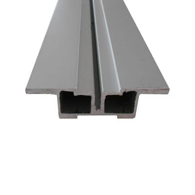 Travetto da pavimento in alluminio 2 x 7.2 x L 200 cm