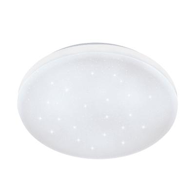 Plafoniera moderno Frania LED integrato bianco, in acciaio,  D. 43 cm EGLO