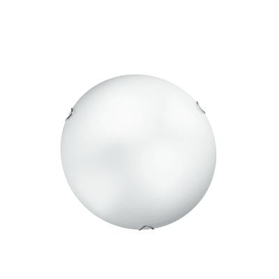 Plafoniera Oblo bianco, in vetro, diam. 40 cm, E27 3xMAX60W IP20