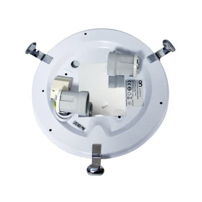 Plafoniera Emma bianco, in vetro, diam. 30 cm, E27 2xMAX60W IP20 LEXMAN