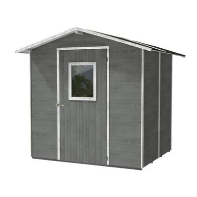 Casetta da giardino in legno Vaniglia,  superficie interna 3.98 m² e spessore parete 19 mm