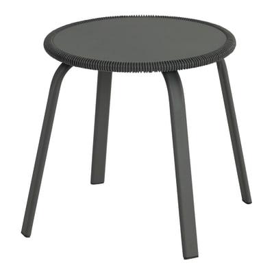 Tavolino da giardino rotondo Veracruz NATERIAL con piano in acciaio Ø 40 cm