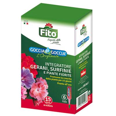 Concime piante fiorite liquido FITO Goccia a Goccia 192 ml