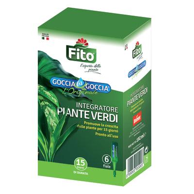 Concime per piante verdi liquido FITO Goccia a Goccia 192 ml