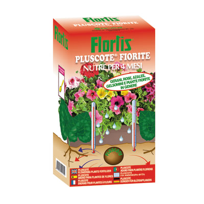Concime piante fiorite granulare FLORTIS Pluscote 1000 g