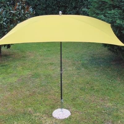 Ombrellone Poli L 2.25 x P 1.9 m color giallo