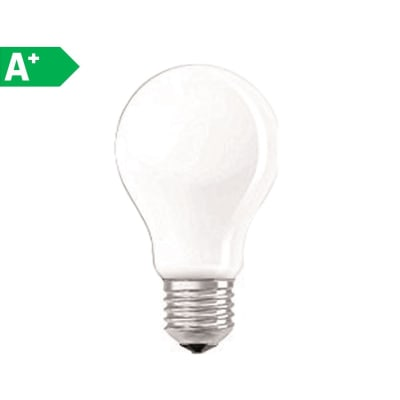 Lampadina LED E27 goccia bianco 4W = 470LM (equiv 40W) 320° OSRAM
