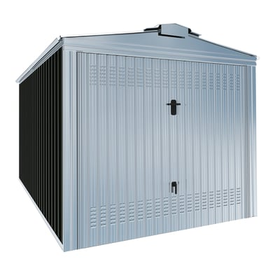 Garage in acciaio al carbonio Orlando 17.12 m², Sp 0.6 mm