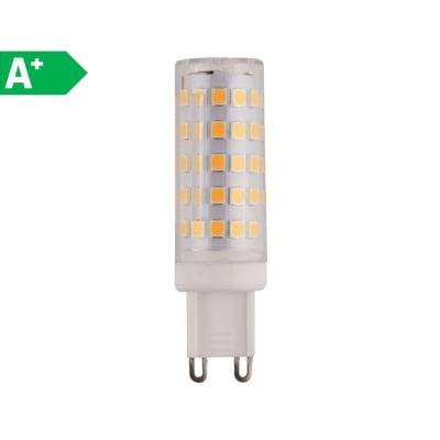 Lampadina LED, G9, Capsula, Opaco, Luce naturale, 6W=640LM (equiv 60 W), 360°