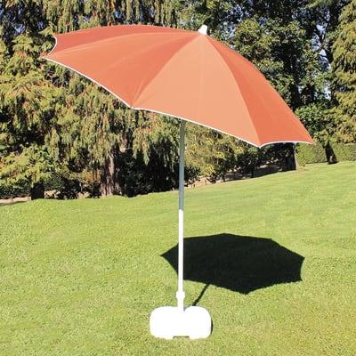 Ombrellone L 2 x P 2 m color marrone