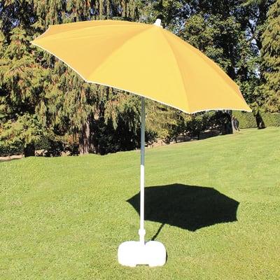 Ombrellone L 2 x P 2 m giallo
