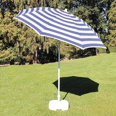 Ombrellone L 2 x P 2 m color blu