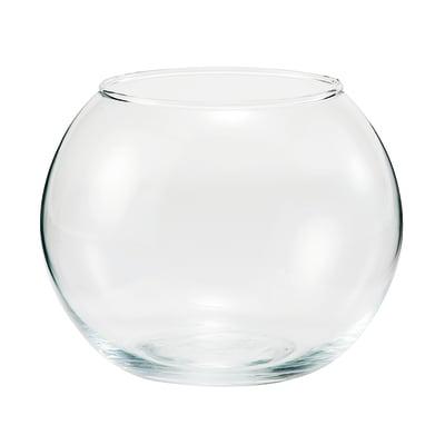 Vaso in vetro Sfera H 10 cm Ø 12 cm