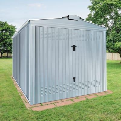 Garage in acciaio al carbonio Boston SAPIL 14.3 m², Sp 0.4 mm