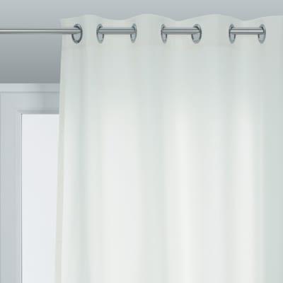 Tenda pronta INSPIRE Sunny bianco occhielli 140x280 cm